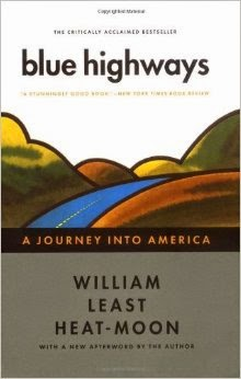 A wonderful book about travelling the backroads of America