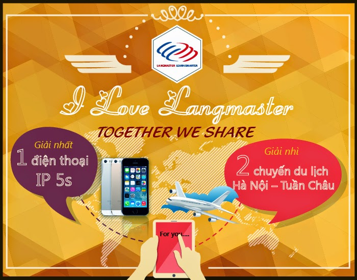 I love Langmaster - Together we share