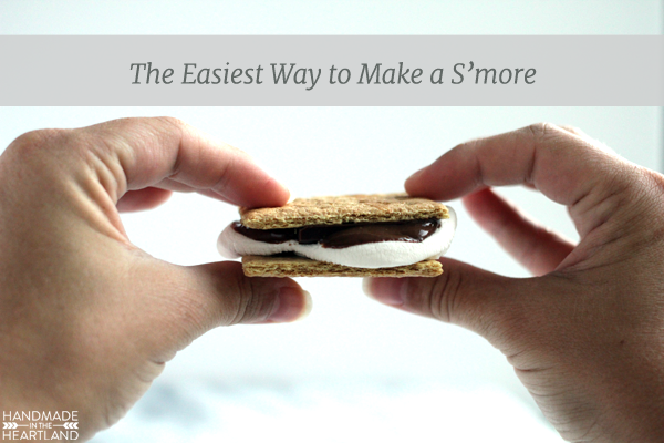 The Easiest Way to Make a S'more