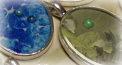 Smykker med maleri