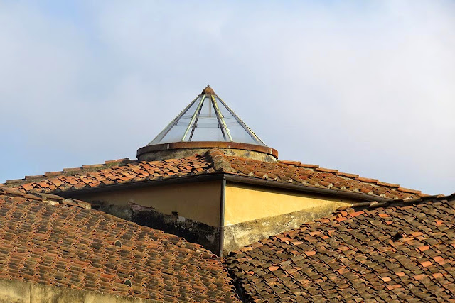 Skylight on the roof of the Cisternone, Livorno