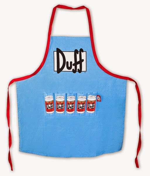 Delantal Simpsons Cerveza Duff