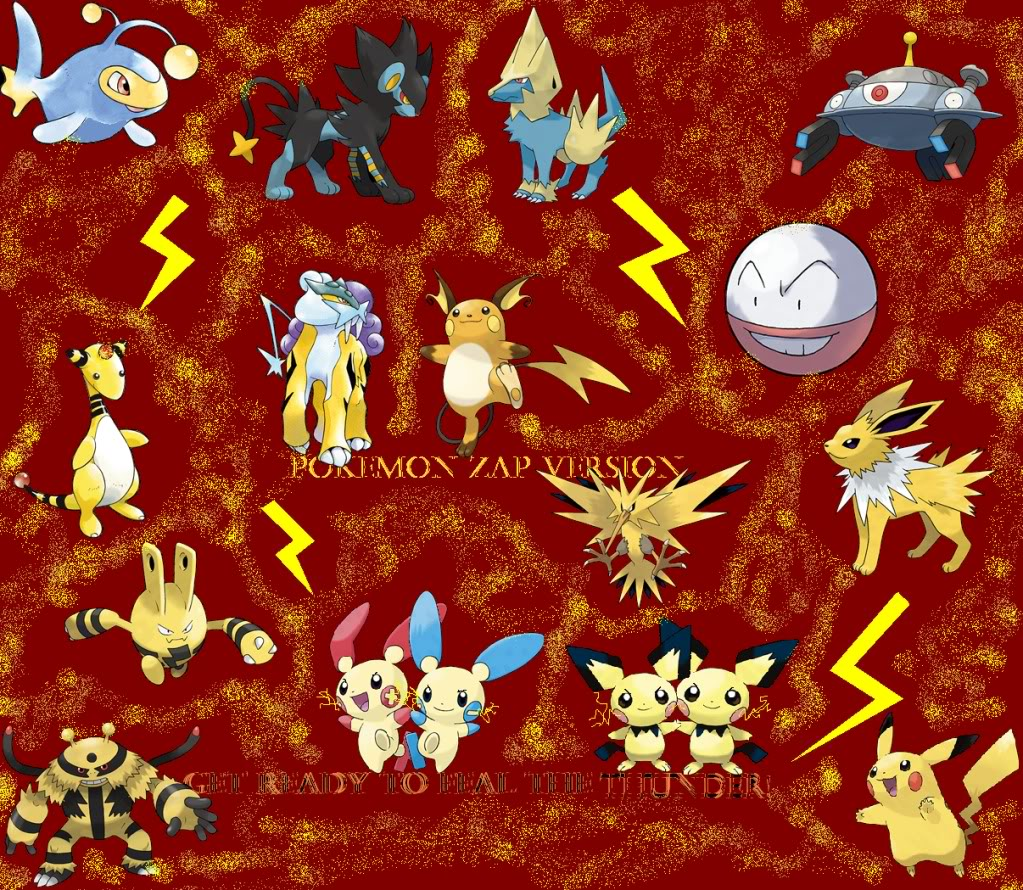 Pokemon Ruby Pokedex: Electric Pokemon