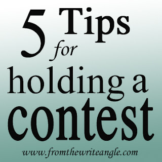 5 Tips for Holding a contest