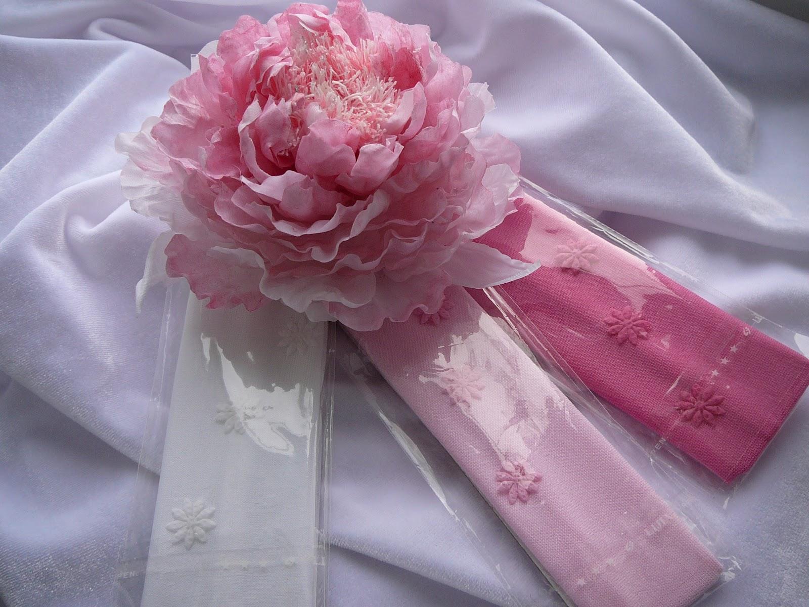 Ободки с цветами своими руками из салфеток