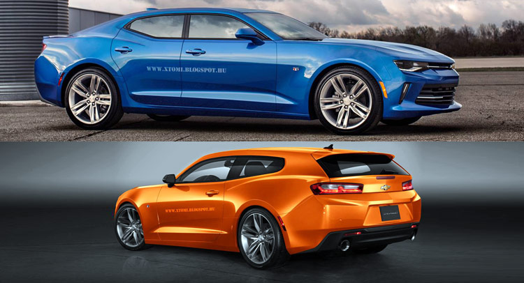 & What About A 2016 Camaro RS Shooting Brake Or Four-Door Coupe? Pezcame.Com