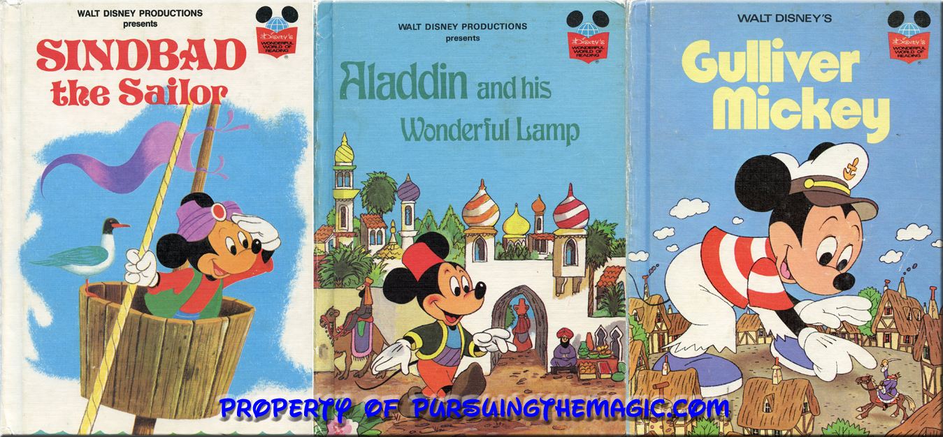 Pursuing the Magic: Oldies but Goodies ~ The Disney Book of the ... for Aladdin And The Magic Lamp Book  lp4eri