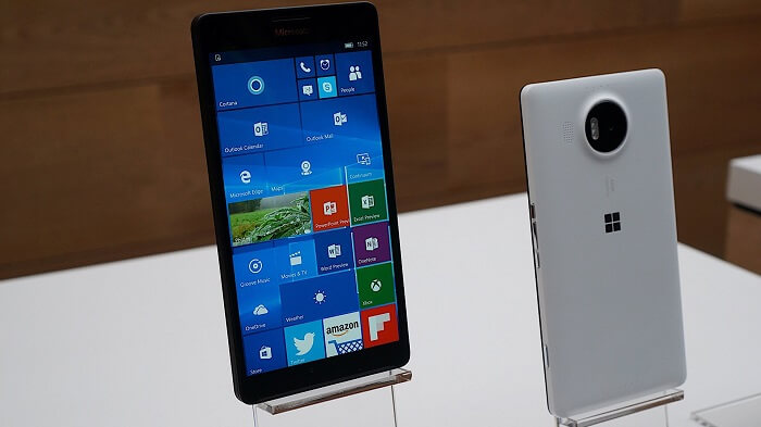 Lumia 950 showcased