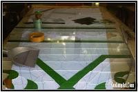 pembuatan kubah kaca patri