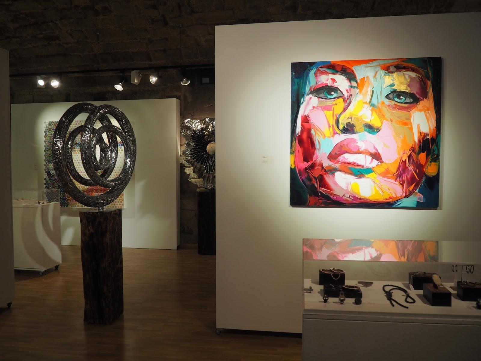 Exposio D'Art Art Gallery Barcelona Review Blog Spanish Art
