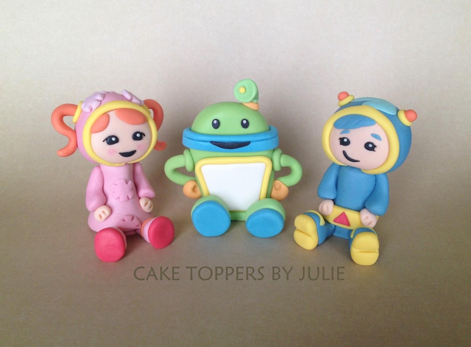 Team Umizoomi Cake ToppersTeam Umizoomi Cake