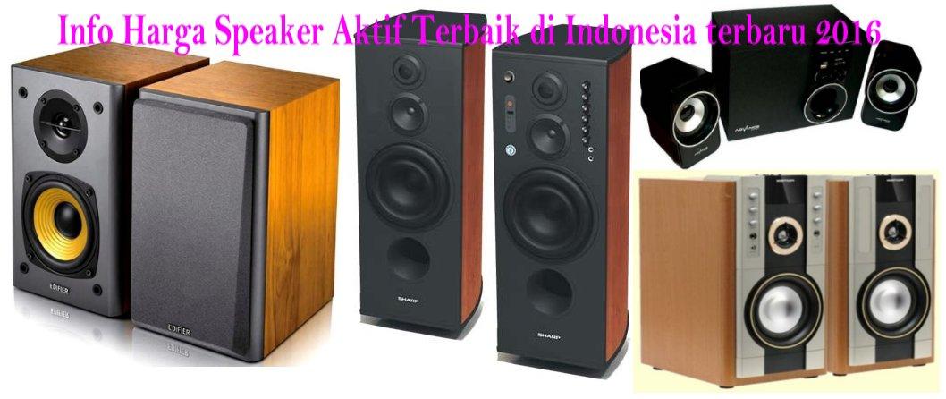 Speaker Aktif Terbaik Untuk PC