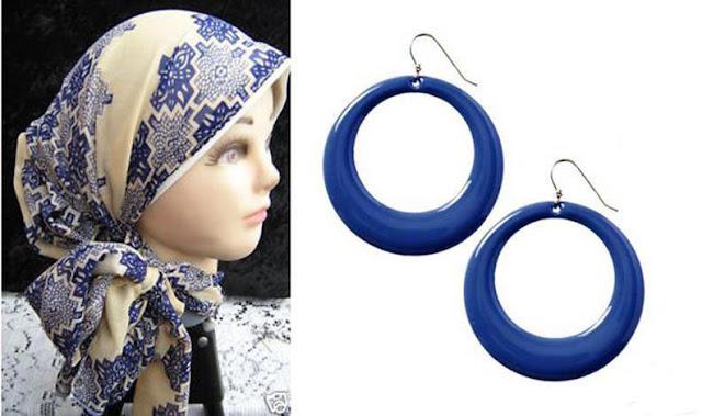 Boucle d'oreille pour femmes voilées