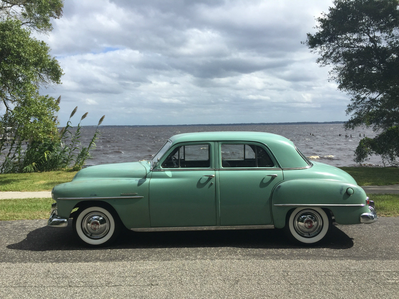 All american classic cars 1951 plymouth cranbrook 4 door for 1951 plymouth 2 door