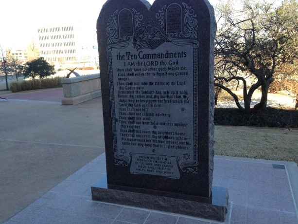 In Oklahoma, 10 Commandments Monument must be removed from state Capitol, State Supreme Court rules