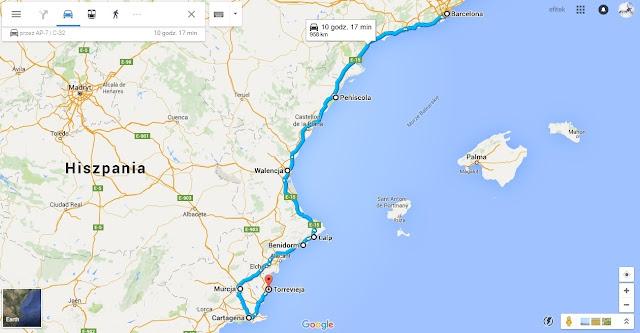 Wschodnia Hiszpania