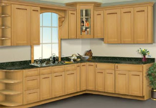 Maple Kitchen Cabinets Photo