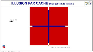 http://dmentrard.free.fr/GEOGEBRA/Maths/export4.25/illusioncarre.html