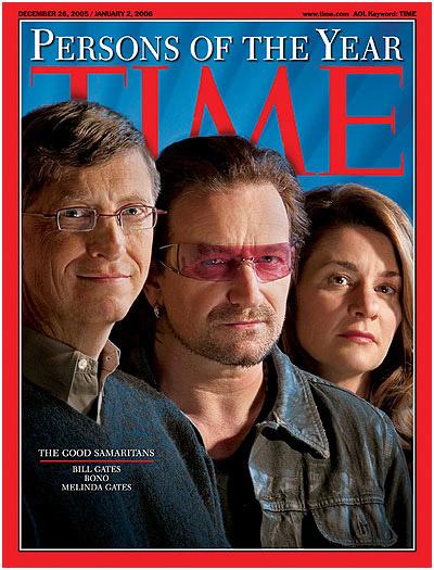 Greg Heisler BTS: Bono/Gates for Time