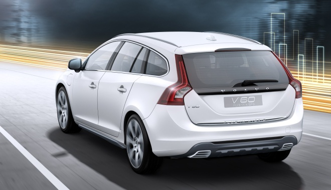 Volvo V60 rear view