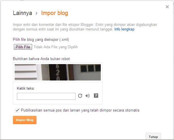 impor blog