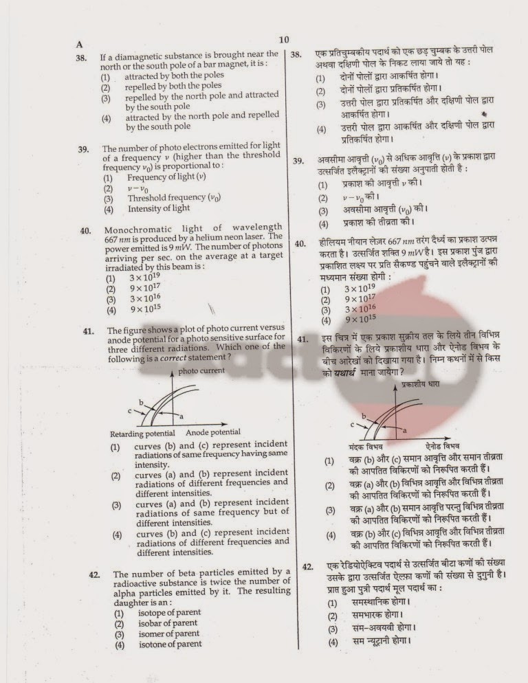 AIPMT 2008 Exam Question Paper Page 11