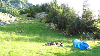 Mountain Camping with Mammut Tent