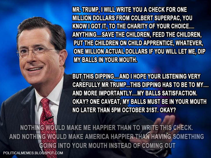 Stephen Colbert: Donald Trump Announcement
