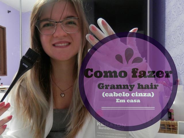 Tutorial: Como fazer granny hair (cabelo cinza) em casa
