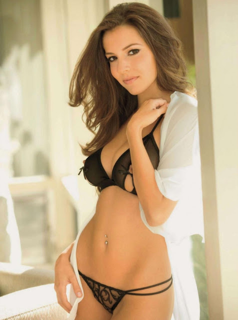 Shelby Chesnes in Lingerie