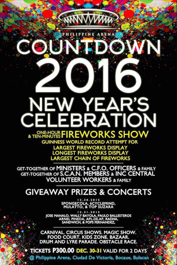 Manila Shopper Countdown To 2016 New Years Eve Parties