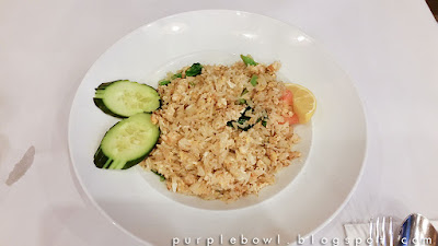 non-spicy fried rice at Nine Elephants