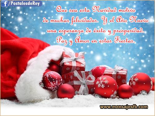 Postales navideñas - Mensajes para Amor | Postales tarjetas con ...