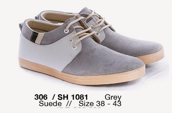 Model Sepatu Casual Pria terbaru, Sepatu Casual Pria cibaduyut murah, Sepatu Casual Pria cibaduyut online, Sepatu Casual Pria bahan suede, Sepatu Casual Pria warna grey