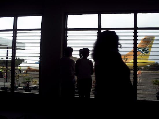 Inside McGuire Airfield terminal of San Jose, Mindoro Occidental