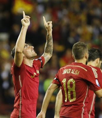 Spain Soccer Team 2015