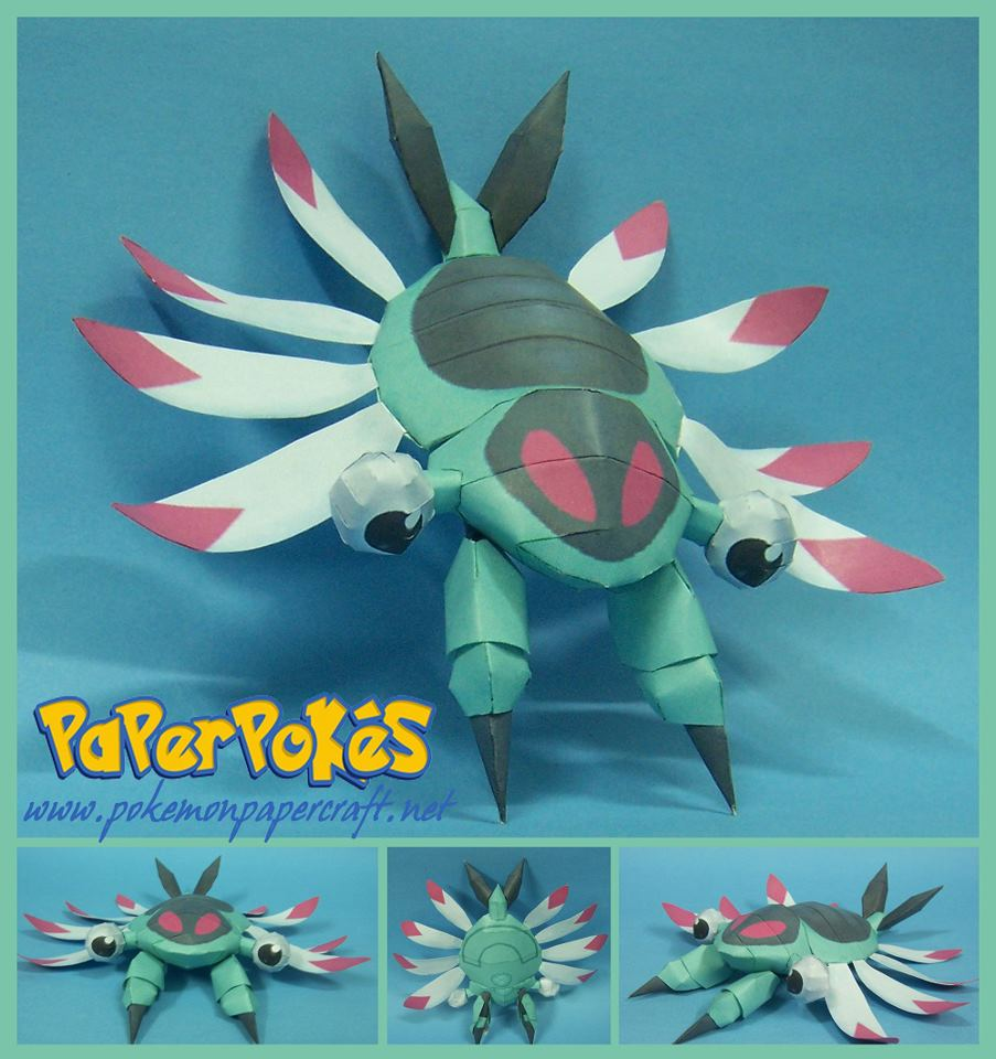 Pokemon Anorith Papercraft