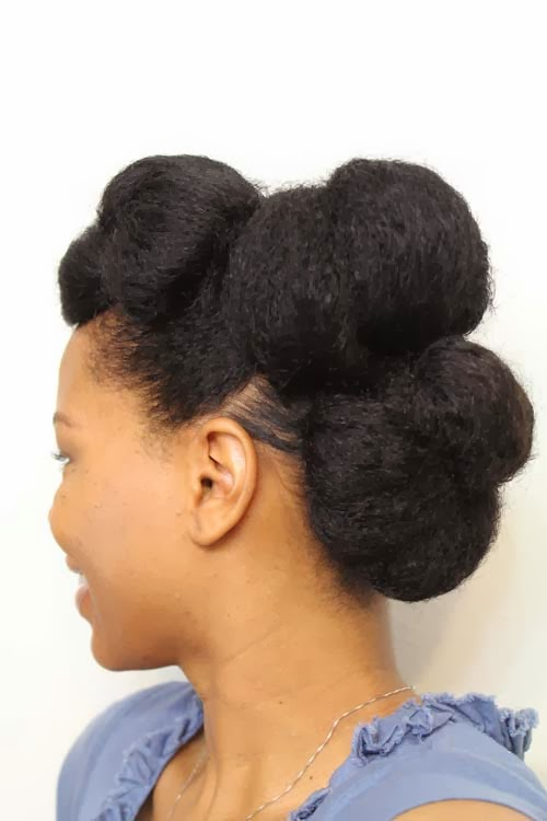 curlyincolorado.com stretched natural hair style