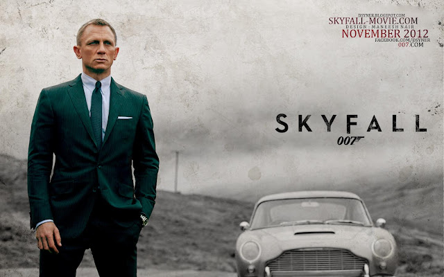 Skyfall PowerPoint background 11