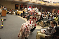 Audience enjoyed great visual feast starting with traditional Chinese Lion Dance.