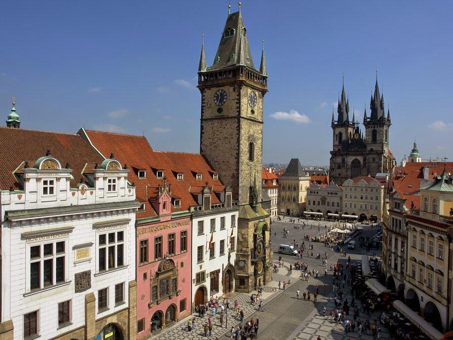 Plaza ciudad vieja de Praga. Las Plazas más bonitas de Europa