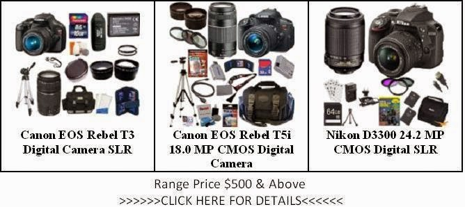 The List of Camera Price $500 & Above