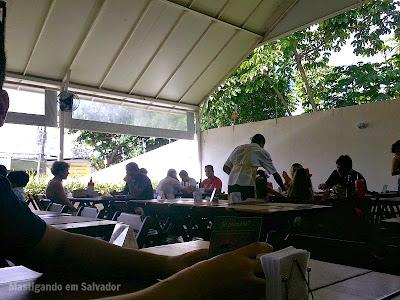 Frangaria Restaurante: Ambiente