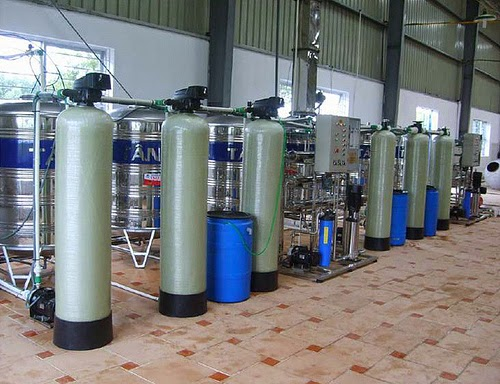 Hệ thống xử lý nước cho lò hơi