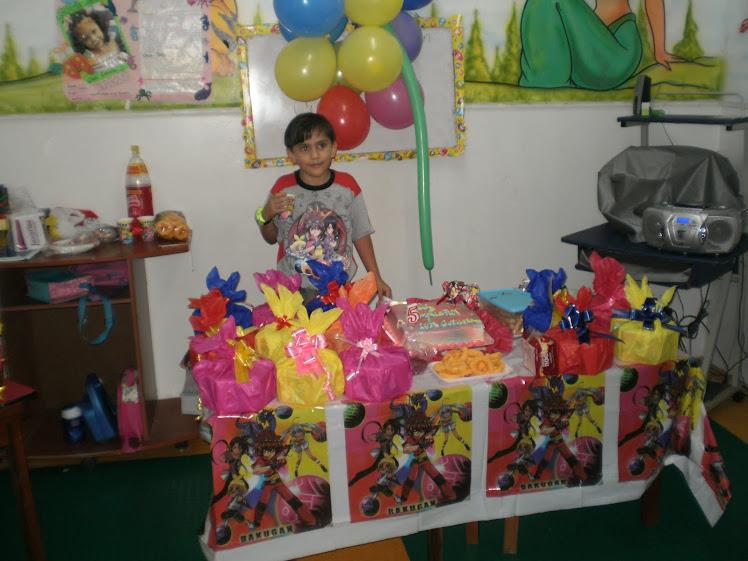 Cumpleaño de Luis Guillermo