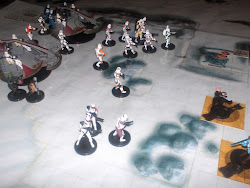 My Clone Troops attacking!