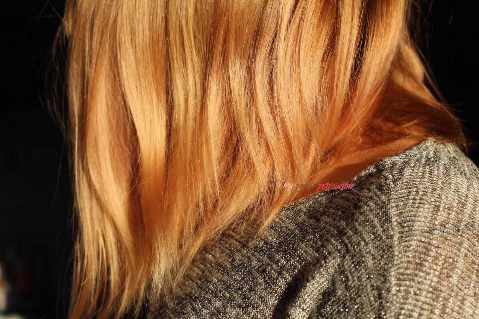 Comment enlever la couleur orange des cheveux