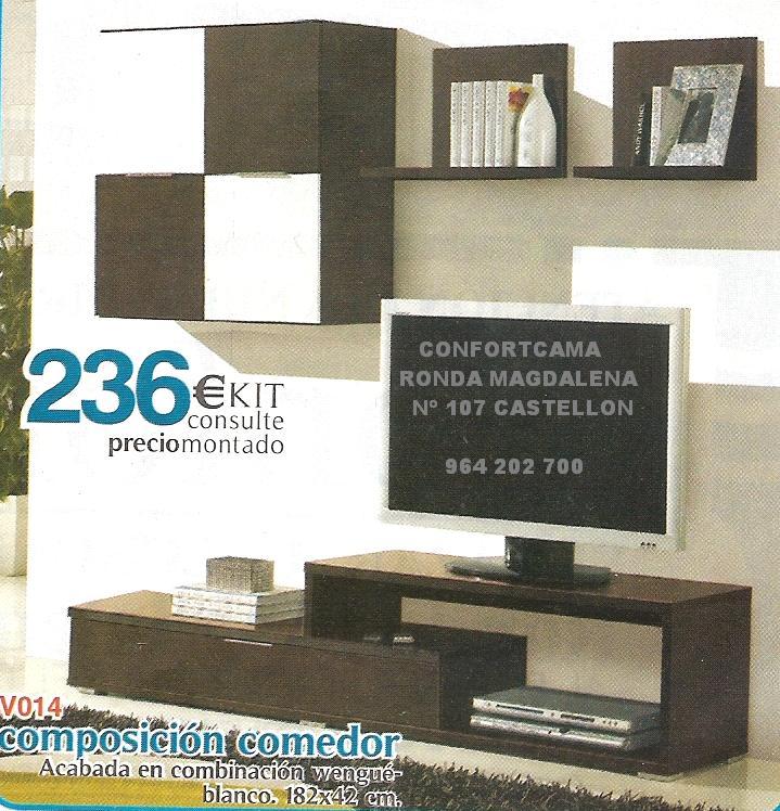 Muebles Oferta Kit Comedores Composiciones Murales