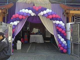 dekorasi balon Y