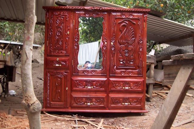 Muebles de cedro rojo de Veracruz